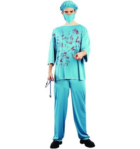 Disfraz Medico Sangriento...
