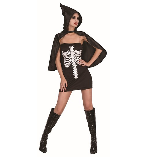 Disfraz Skeleta Sexy Adulto