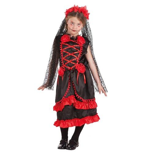 Disfraz Catrina Flores...