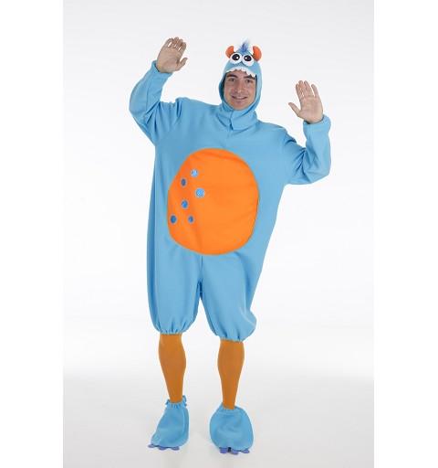 Disfraz Monstruito Azul Adulto
