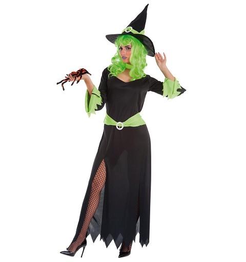 Disfraz Bruja Green Adulto