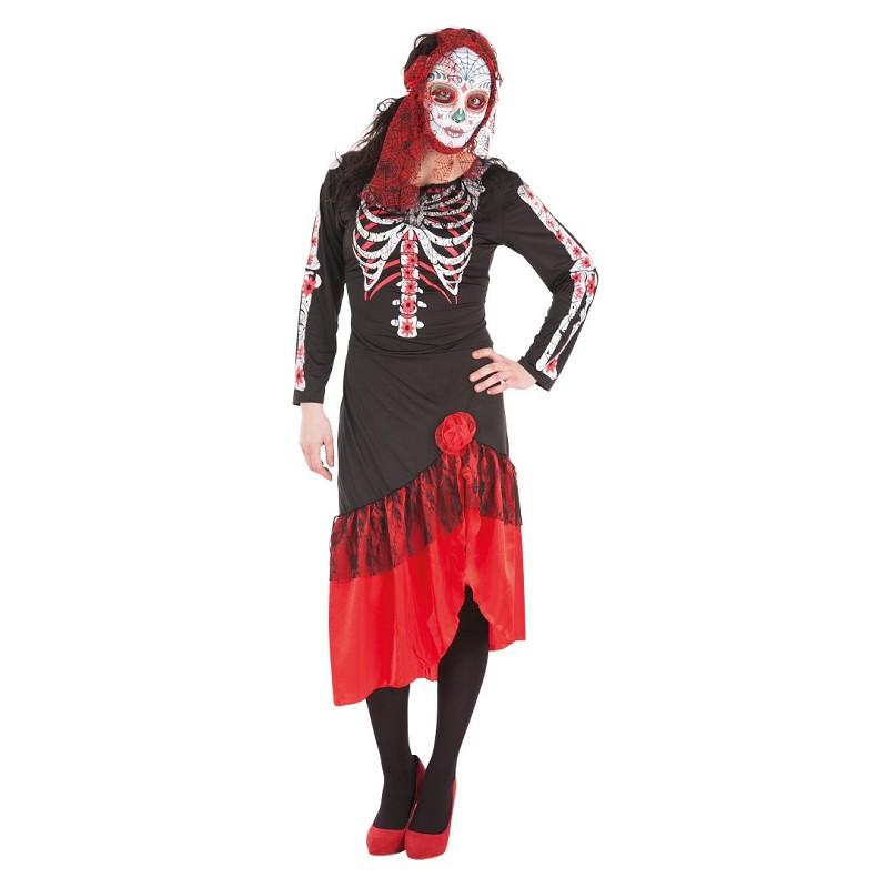 Disfraz Catrina Vestido Adulto