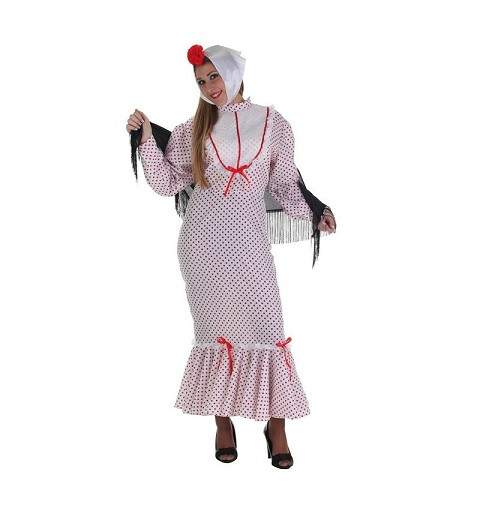 Disfraz Chulapa Rojo Adulto