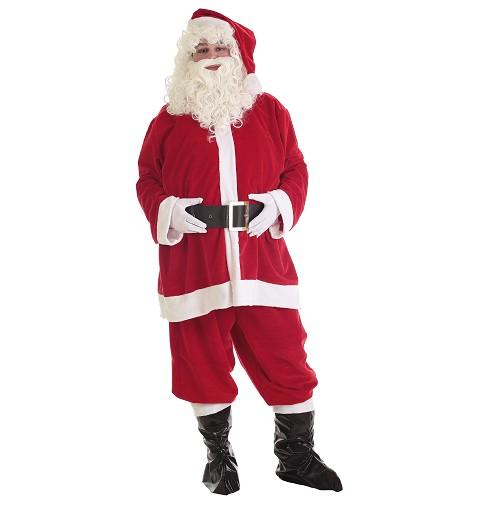 Disfraz Papá Noel Lux Adulto