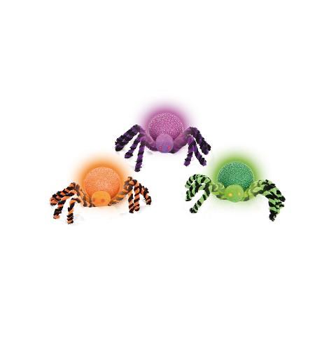 Araña Bola con Luz