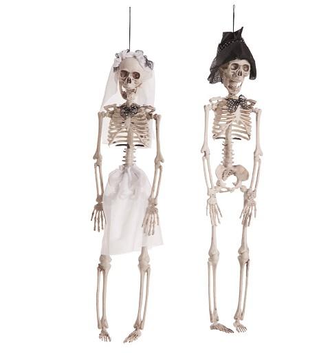 Colgante Novios Esqueleto