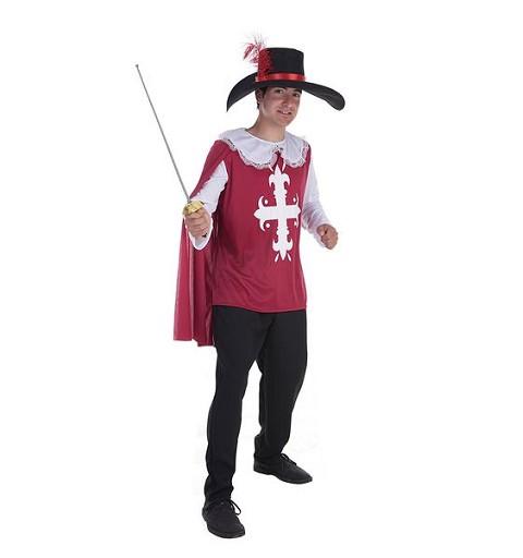 Disfraz Mosquetero Toledo Adulto
