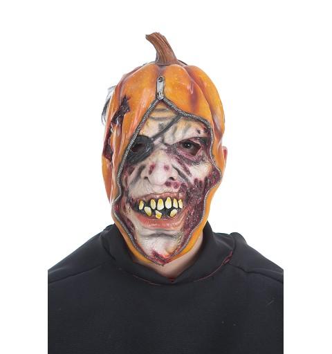 Mascara Calabaza Cremallera