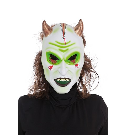Mascara Demonio Blanco