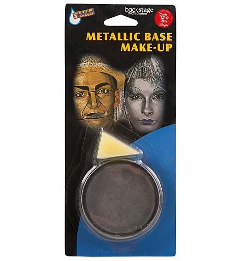 Tarro de Maquillaje Metálico