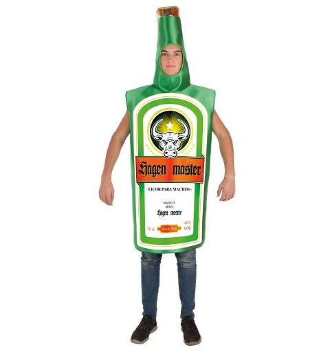 Disfraz Botella Jagen Master Adulto