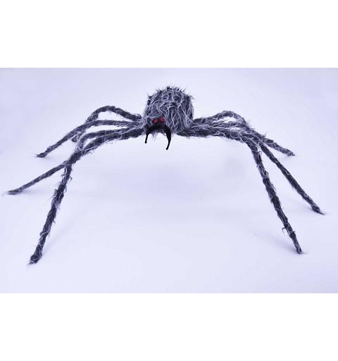 Araña gris peluda 97 cm H0048