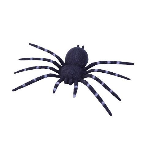 Araña negra plástico 24 cm...