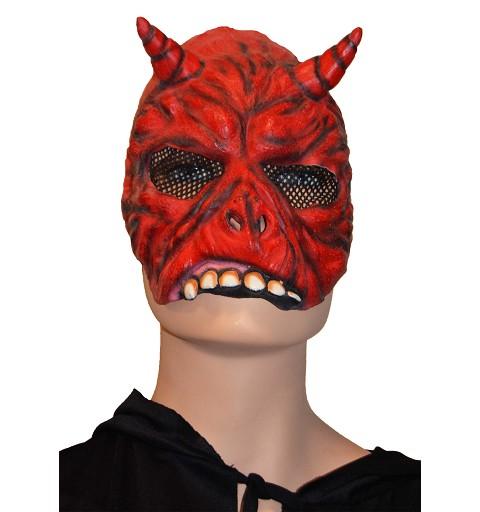 Media máscara de demonio H0114