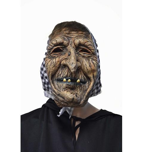 Máscara bruja c/pañuelo H0122
