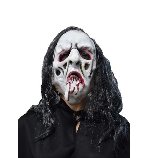 Máscara blanca sangre H0123