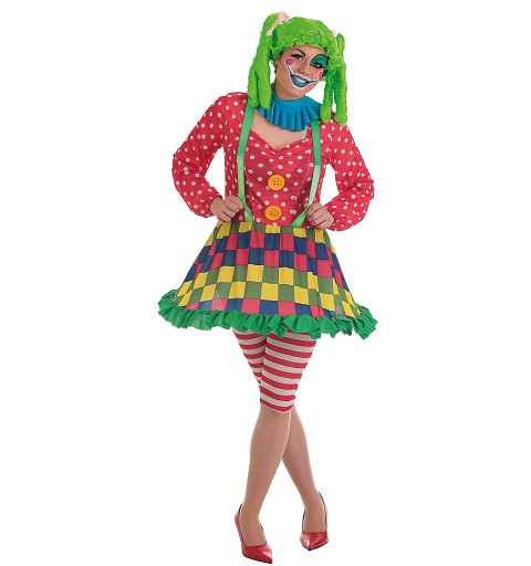 Disfraz Payasa Spotty Adulto