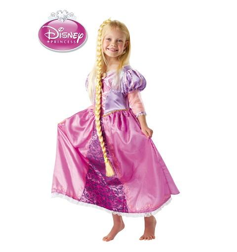 Disfraz Rapunzel de Luxe Infantil