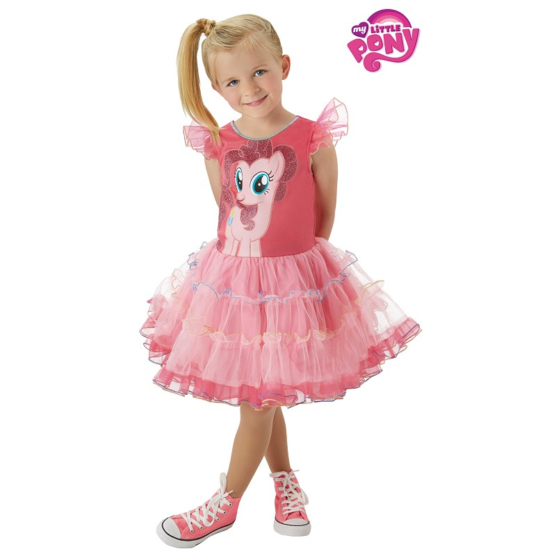 feb8dd795 Disfraz de Pinkie Pie My Little Pony y Tutú para Niña - MiDisfraz