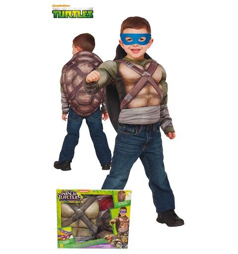 Disfraz Tortugas Ninja 2 Pecho Musculoso Infantil