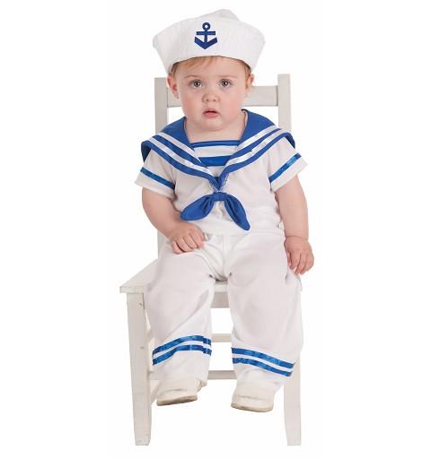 Disfraz Marinero Bebe ( 0 a 12 meses )
