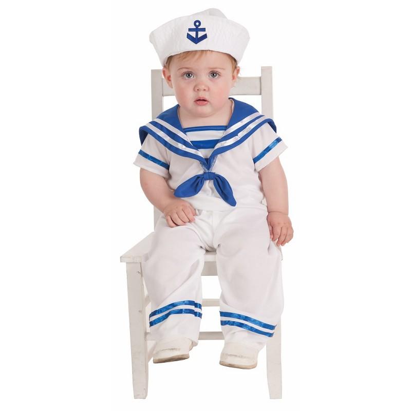Disfraz marinero bebe 0 a 12 meses midisfraz - Disfraz de marinero casero ...