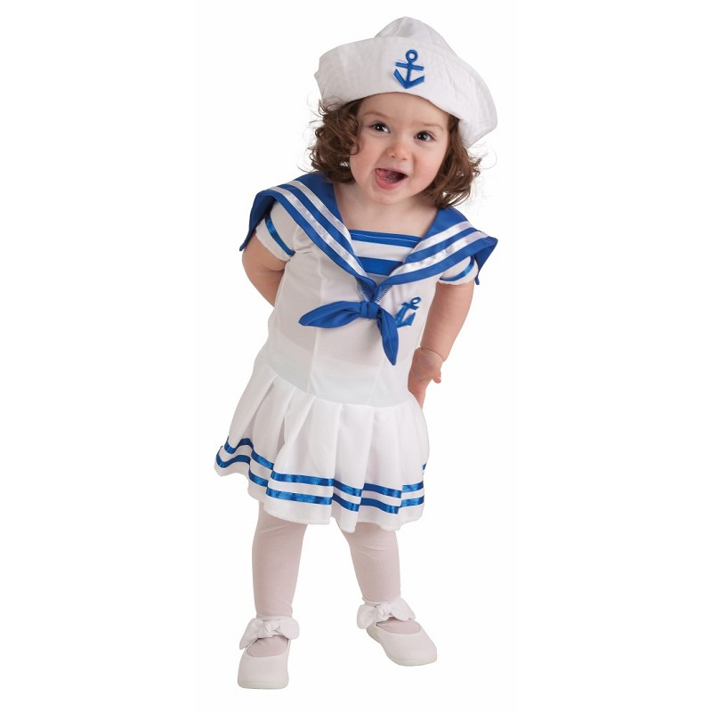 Disfraz marinera bebe 0 a 12 meses midisfraz - Disfraz marinera casero ...