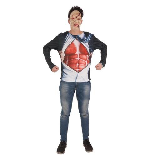 Disfraz Camiseta Ejecutivo Zombie Adulto