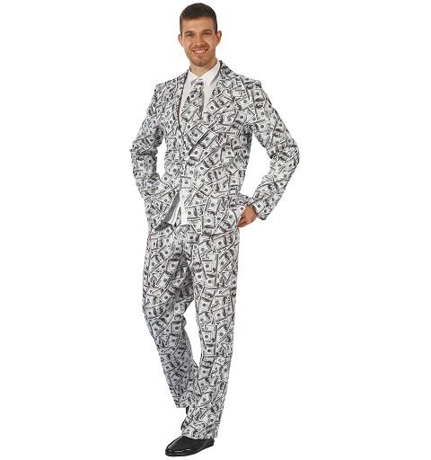 Disfraz Suits Money Adulto
