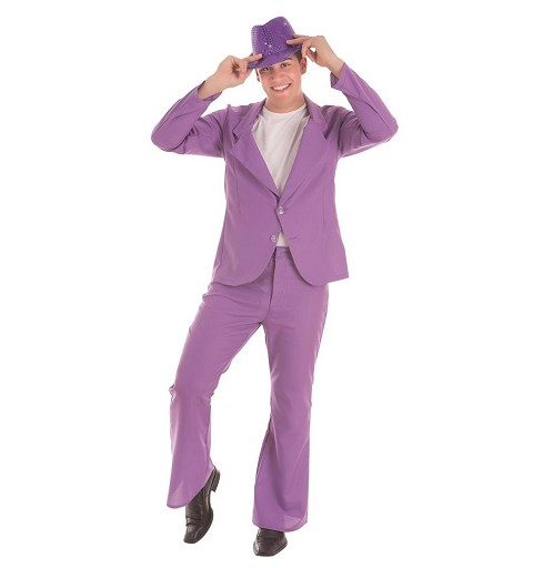 Disfraz Suits Purple Adulto