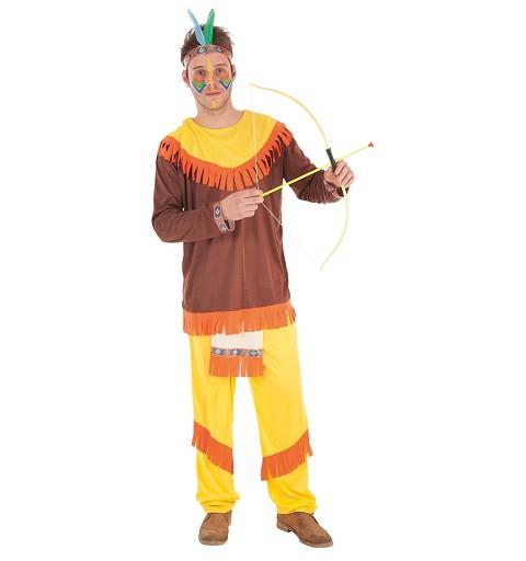 Disfraz Indio Colorines Adulto
