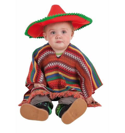 Disfraz Mexicano Bebe ( 0 a 12 meses)