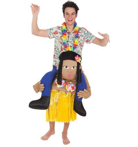 Disfraz A Hombros Hawaiana...