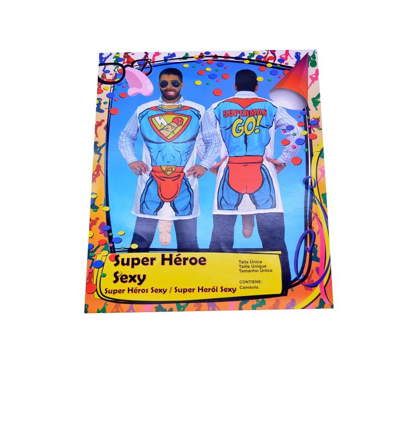 Disfraz de Super Heroe Sexy