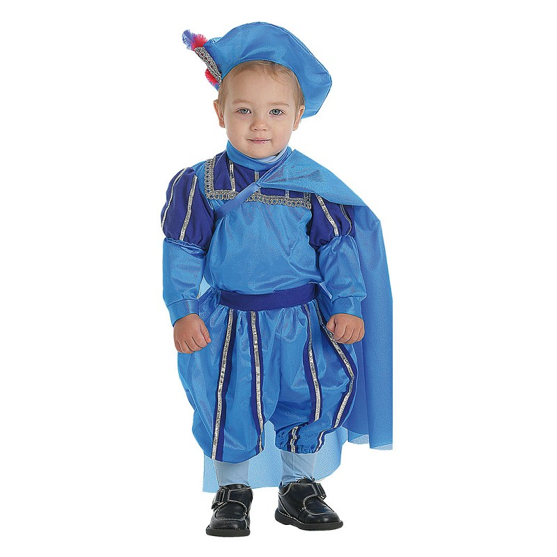 Disfraz Principe Azul Bebe (0 a 12 meses) - MiDisfraz