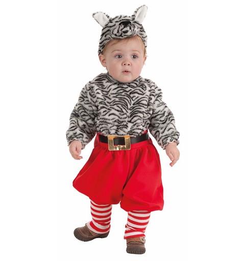 Disfraz Bebe Gatito ( 0 a 12 meses )