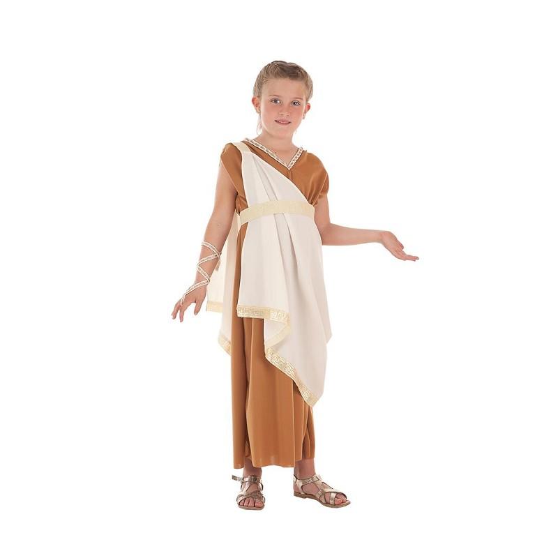 b912ca28ebf Disfraz 100% fabricado en España Disfraz Romana Aurelia Infantil