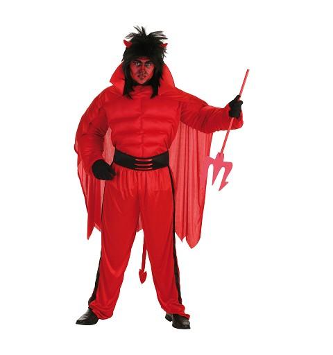Disfraz Diablo Rojo Adulto