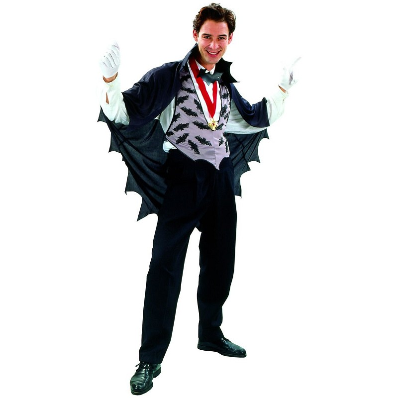 8521ab561aa1 Disfraz de Rey Vampiro Gris con Medallón para Adulto - MiDisfraz