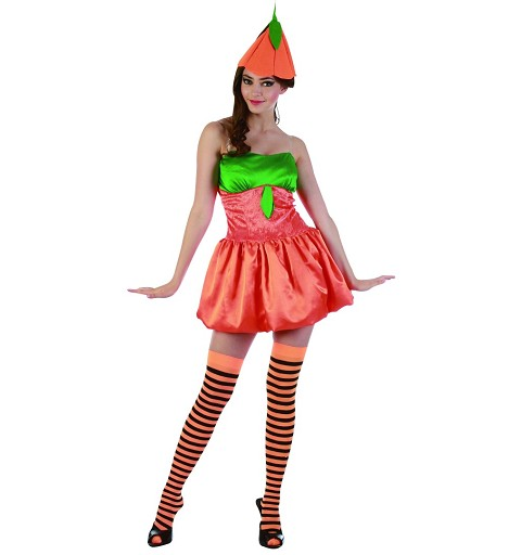 Disfraz Calabaza Adulto Mujer