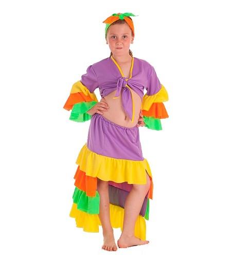 Disfraz Cubana Varadero Infantil