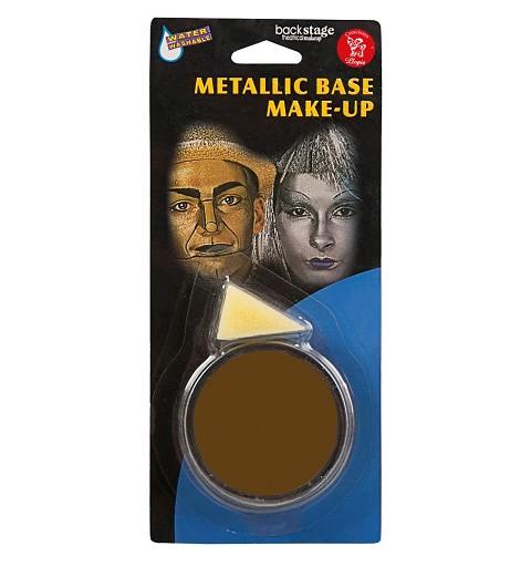 Maquillaje Marrón En Crema
