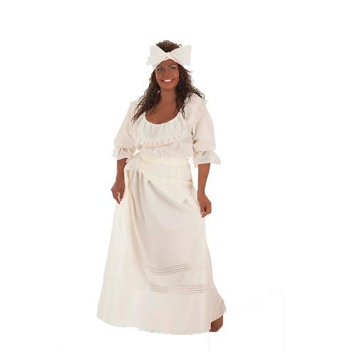 Disfraz de Cubana Beige...