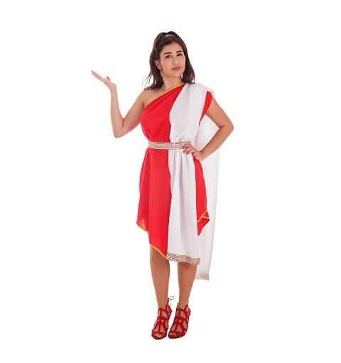 Disfraz Romana Pico Rojo...