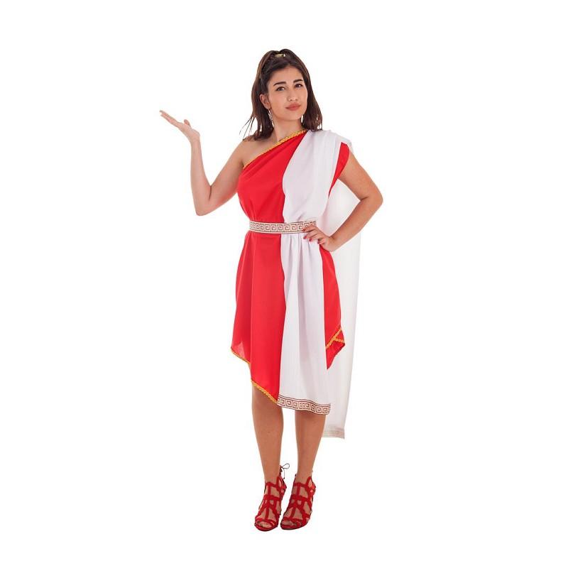 4d59b4f96fc Disfraz 100% fabricado en España Disfraz Romana Pico Rojo Adulto