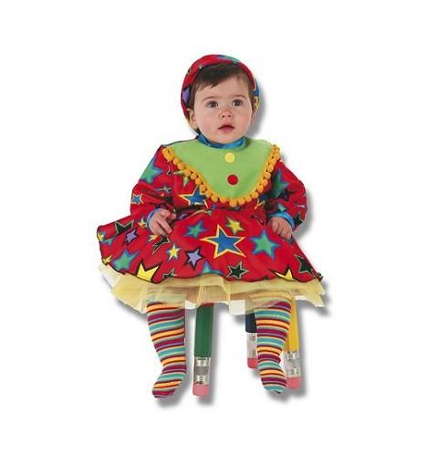 Disfraz de Payasina Bebe (0 a 12 meses)