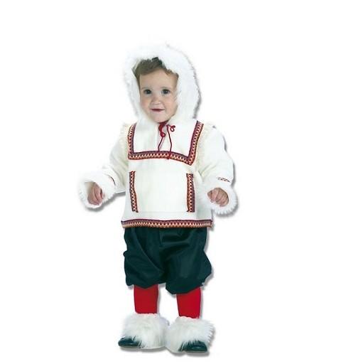 Disfraz Esquimal Niño Bebe (0-12 meses)
