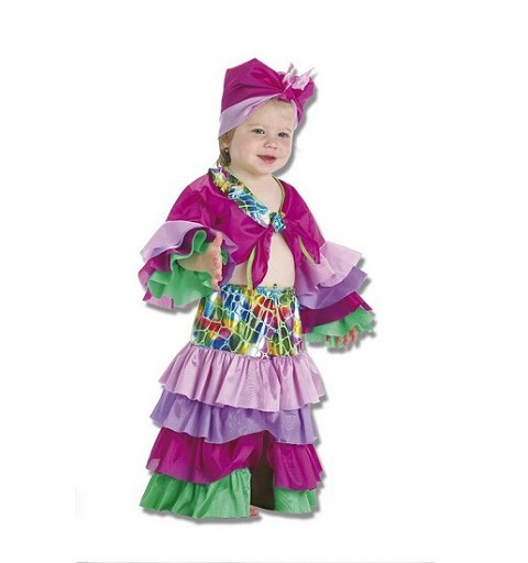 Disfraz de Cubana Bebe (0 a 12 meses)