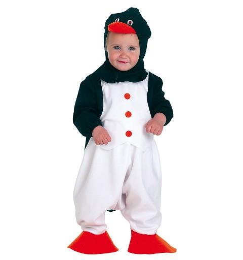 Disfraz Pingüino Bebe Rojo