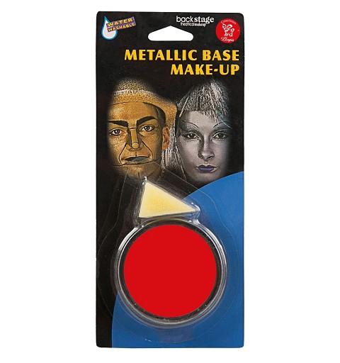Tarro Maquillaje Rojo